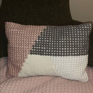 Textured Neutral Colored Pillow